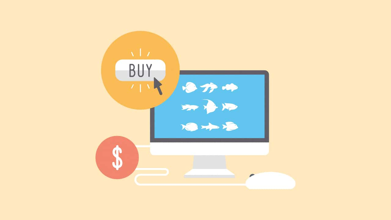 best online fish store illustration